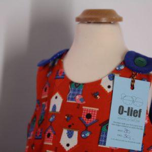 Mini 'Stella' jurkje - maat 80 (12 maanden)